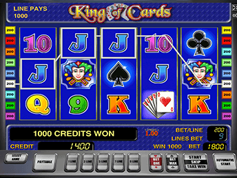 King Of Cards в Вулкан Платинум